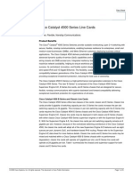 Cisco Catalyst 4500 Series Line Cards
