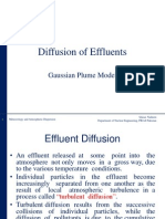 Effluent Diffusion