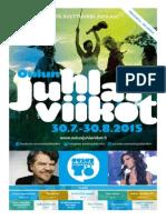 OJV-käsiohjelma 19.–30.8.2015