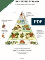 Healthy Eating Pyramid Handout