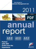 Akd Income Fund Ltd Annual Report 2011