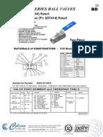 Bd Series Ball valve