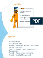 Manufacturing Goods Control Assurance