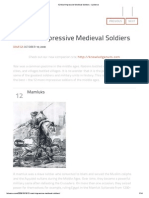 12 Most Impressive Medieval Soldiers - Listverse