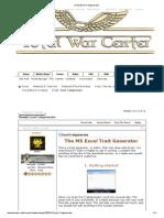 [Tool] Excel Traitgenerator