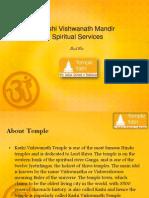 Kashi Vishwanath Mandir Spiritual Services