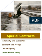 Special Contracts