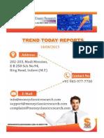 Trend Today Report