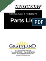 Transfer Auger & Portable Pit Parts