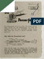 D.560/1 Pzf (klein) - 30 m Die Panzerfaust