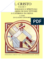 A. Orbe, M. Simonetti, C. Leonardi (a cura di) - Il Cristo. Testi teologici e spirituali (5 voll., Fond. Lorenzo Valla)