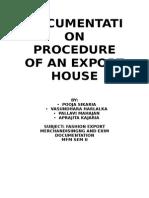 DOCUMENTATION PROCEDURE OF AN EXPORT HOUSE.docx