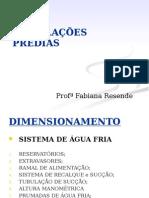 2 Aula - Dimensionamento - 2015-1