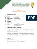 Programa Anatomia de La Madera