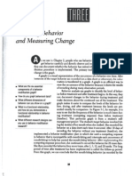 Miltenberger Chp3 Graphing Behavior and Measuring Change