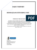 Denim Jean Stitching Unit