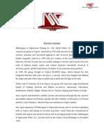 Financial Analysis M&P