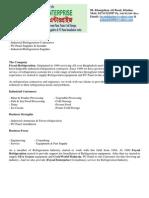 Company Profile Foysal Refrigeration