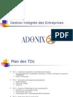 Adonix sage X3 TD
