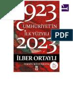 İlberOrtaylıİsmailKüçükkayaCumhuriyetinİlkYüzyılı19232023pdf