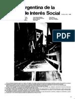 Historia Argentina de La Vda de Interès Social_Parte 1 1916-1943