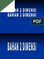 bahan BBB EDU 2D dan 3D