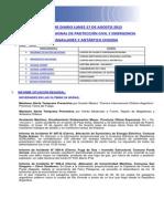 Informe Diario Onemi Magallanes 17.08.2015