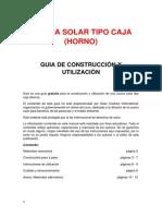 Construir Horno Solar