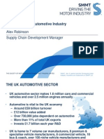 UK Auto Sector Overview - CLEPA NA Meeting