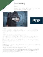 BusinessWired - Business Wire Blog