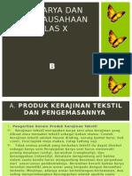 Prakarya Kls x