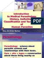 Introduction to Parasitology,3005