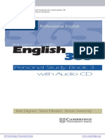 English 365 - Personal Study Book 3
