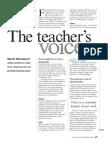 The Teachers Voice