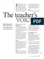 The Teachers Voice