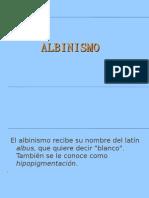 El Albinismo Recibe Su Nombre Del Latín