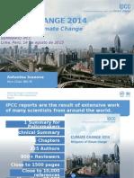 IPCC WG3 AR5 Presentation