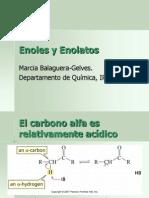 Enoles y Enolatos 2012