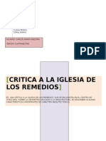 Critica arquitectónica de la iglesia.doc