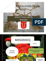 Origen y Evolución de Las Aves
