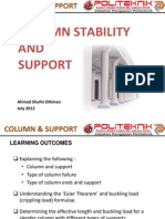 11. Column Stability Supports