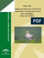 Programa Actuacion Aves Necrofagas Anexo III