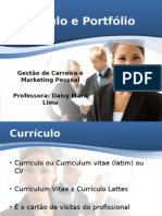 Currículo e Portfólio