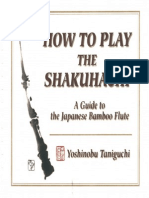 How To Play the Shakuhachi
