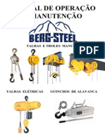 Manual Talhas Berg Steel