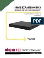 Digimerge VBAY3HD Installation Manual