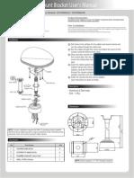 Digimerge MNTZ36C Installation Manual