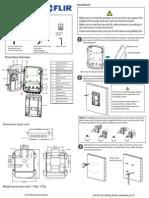 Digimerge MNTZX1PB Installation Manual