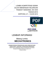 32. Upload LKS 2015 Mechatronic