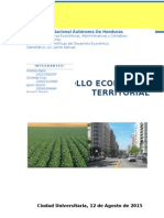 Desarrollo Económico Territorial- Informe Final
